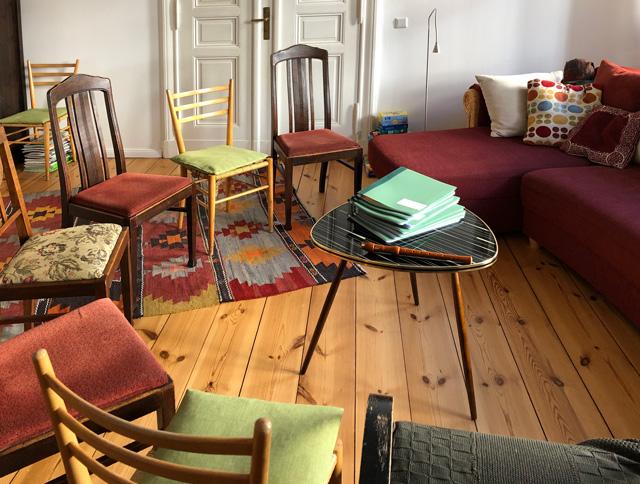 Wo man singt, da lass dich nieder – Eindrücke vom Wohnzimmerchor Potsdam-West