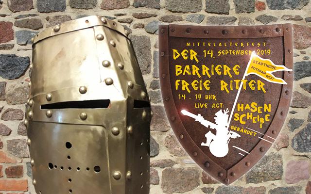 """Mittelalterfest """"Der barrierefreie Ritter"""""""