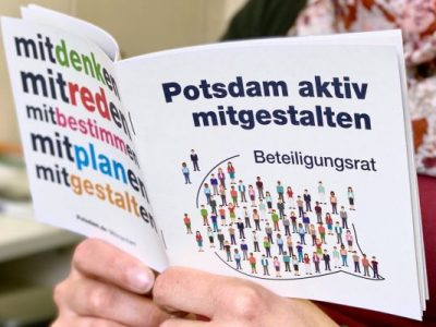 Neues Info-Heft zu Mitsprache-Angeboten